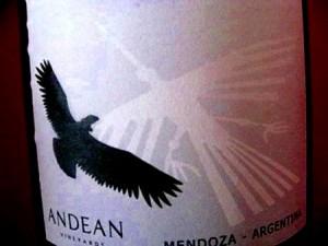 アルゼンチンワイン コンドール・アンディーノ ラベル