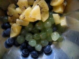 マスカットとチーズのフルーツ和え レシピ2