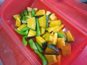 夏野菜パスタ ラタトゥーユパスタ (2)