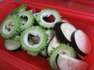 夏野菜パスタ ラタトゥーユパスタ (1)