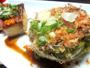 秋茄子 秋なす 豆腐ステーキ