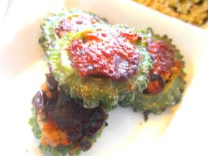 高菜混ぜ玄米プレート (3)