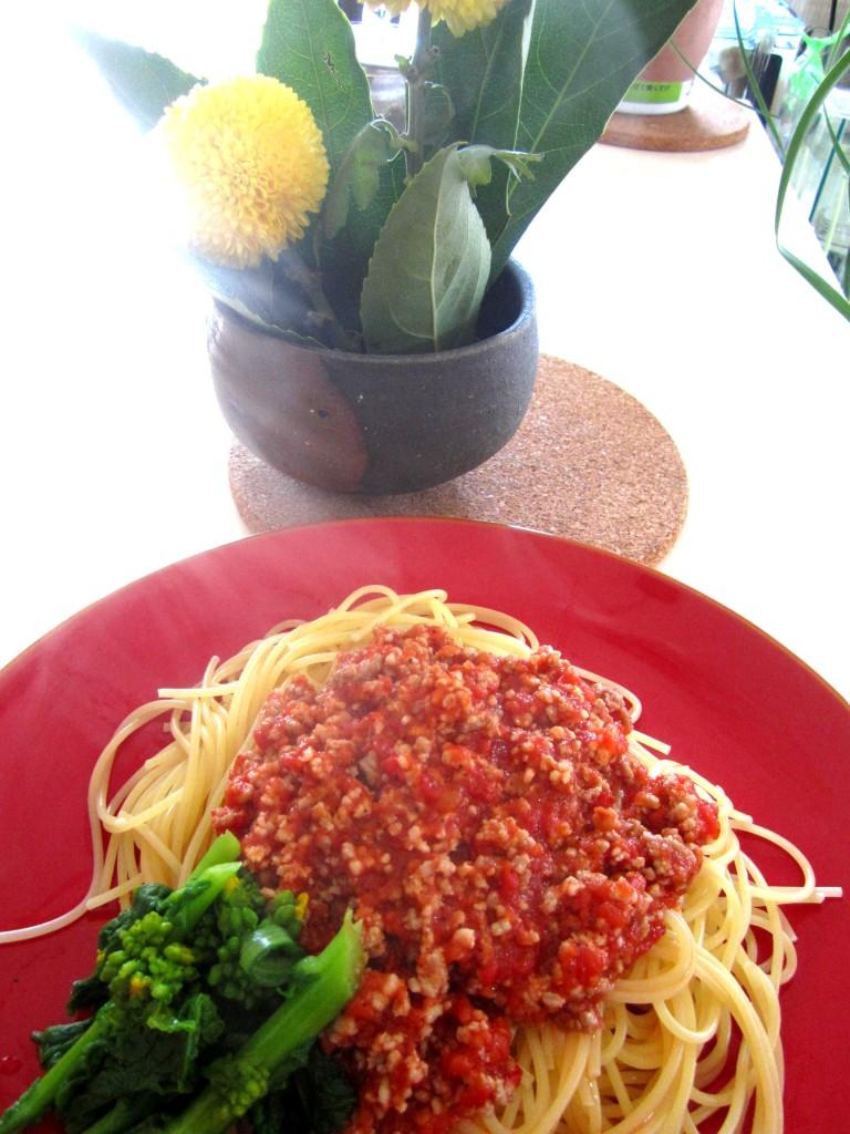 自家製トマトミートソース