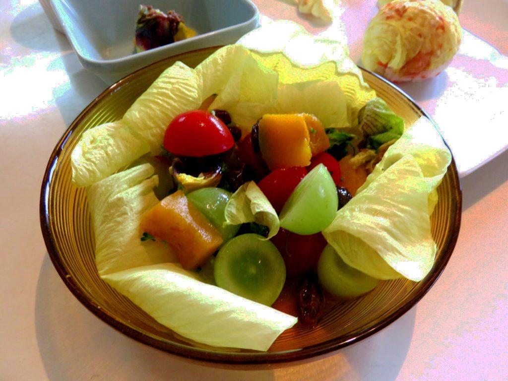 ハナオクラのサラダ