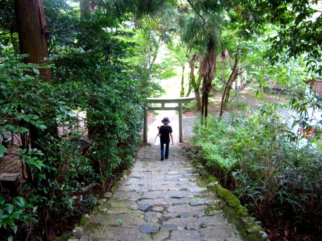 観光客には秘密の石階段